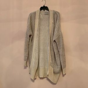 urban outfitters cream cardigan